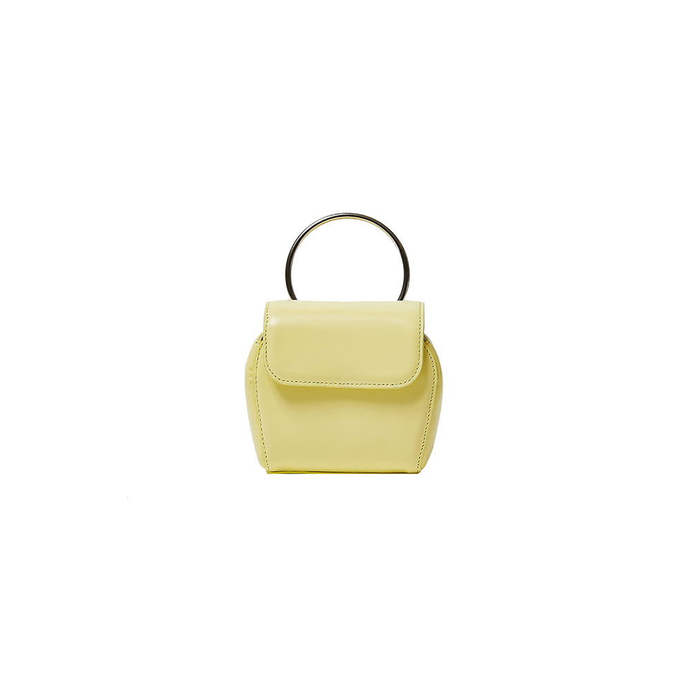 MINI SHELL BAG - LEMON YELLOW