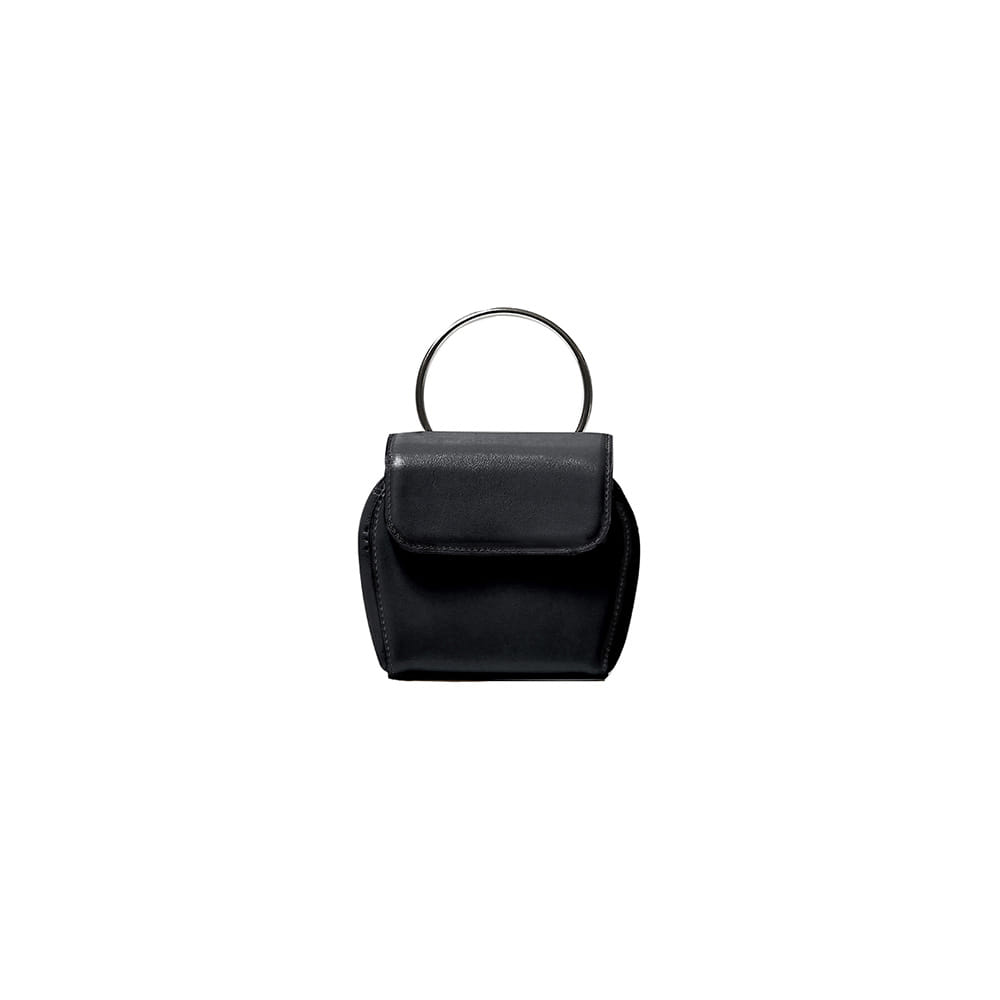 MINI SHELL BAG - BLACK
