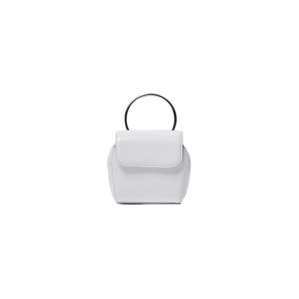 MINI SHELL BAG - WHITE