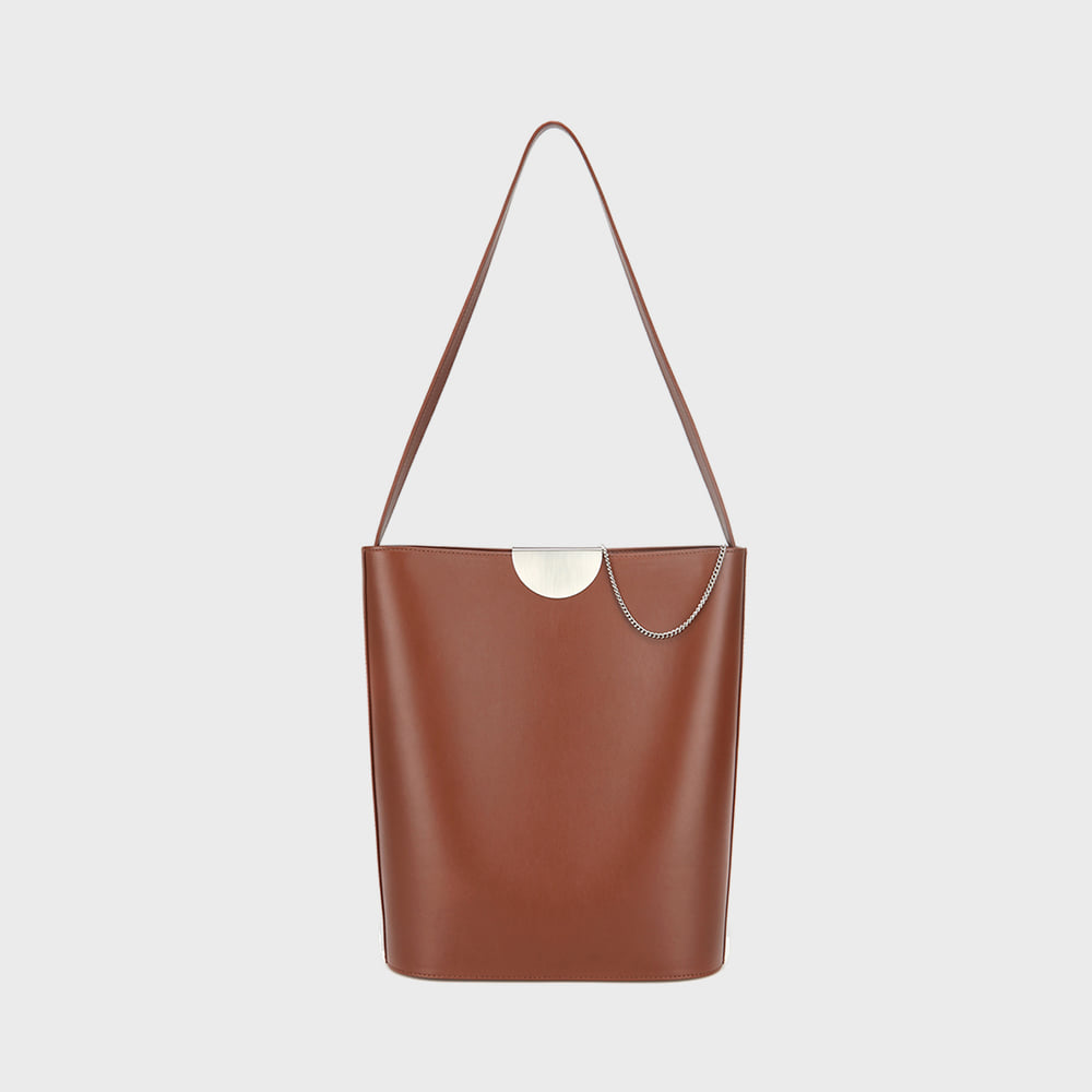 CLIP BAG - BROWN