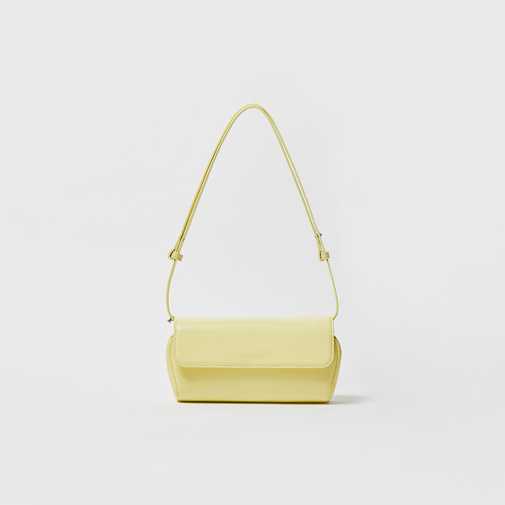 SHELL BAG - LEMON YELLOW