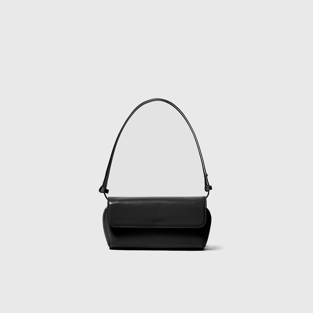 SHELL BAG - BLACK