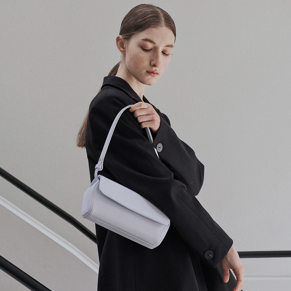 SHELL BAG - WHITE